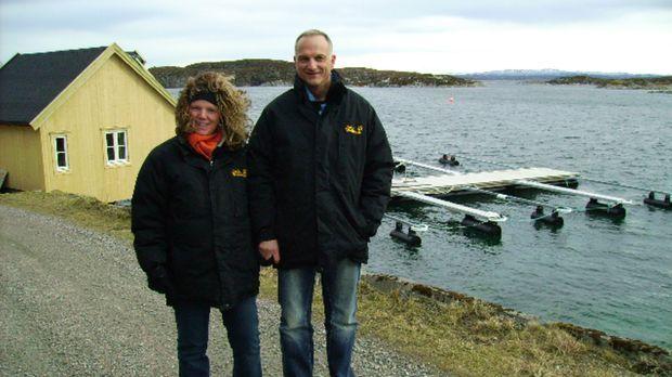 Abtauchen in Norwegen - Birgit (l.) und Frank (r.) starten durch ... © kabel...