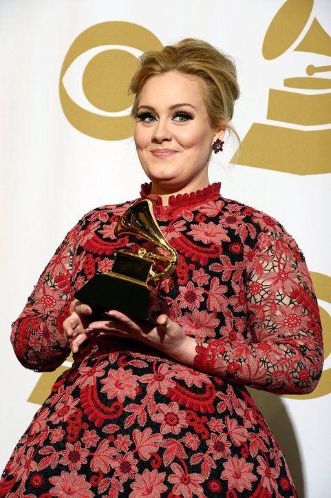 Adele  - Bildquelle: +++(c) dpa - Bildfunk+++ Verwendung nur in Deutschland