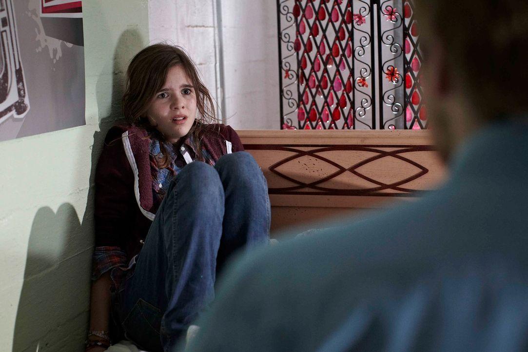 in der Gewalt eines Psychopathen: Jessy (Jamie Bick) ... - Bildquelle: Willi Weber SAT.1
