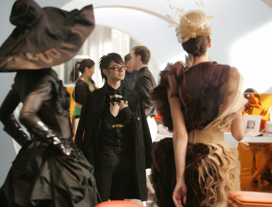 Designer Christian Siriano (Christian Siriano) mischt die Redaktion auf ... - Bildquelle: Buena Vista International Television