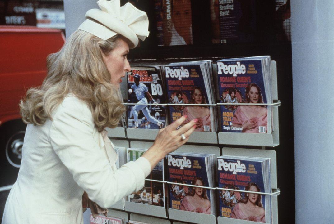 Zielscheibe der Regenbogenpresse: die erfolgsverwöhnte Autorin Mary (Meryl Streep) ... - Bildquelle: 20th Century Fox