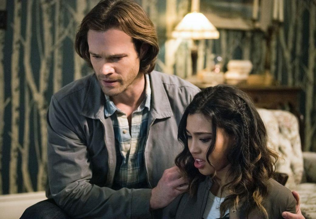 Sam (Jared Padalecki, l.); Alicia Banes (Kara Royster, r.) - Bildquelle: Dean Buscher 2016 The CW Network, LLC. All Rights Reserved/Dean Buscher