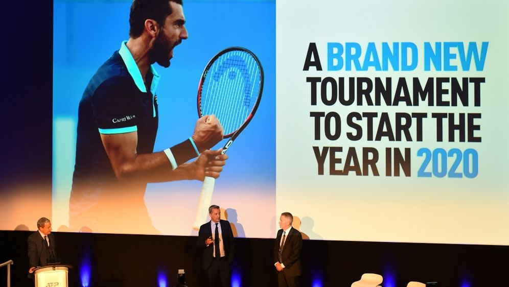 2020 startet mit dem ATP Cup ein neuer Teamwettbewerb - Bildquelle: AFPSIDGLYN KIRK