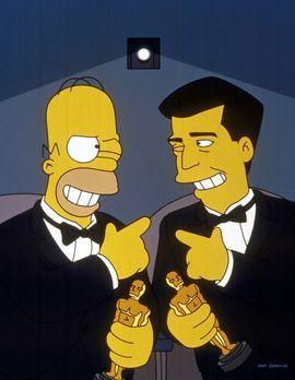 """Die Simpsons - Homer (l.) und Mel Gibson (r.) besuchen gemeinsam """"ihre&q..."""