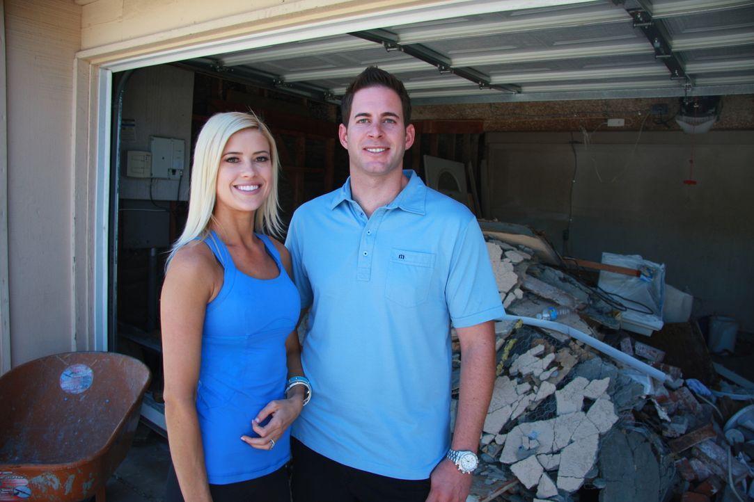 Eine riesige Baustelle wartet mal wieder auf Christina und Tarek ... - Bildquelle: 2013,HGTV/Scripps Networks, LLC. All Rights Reserved