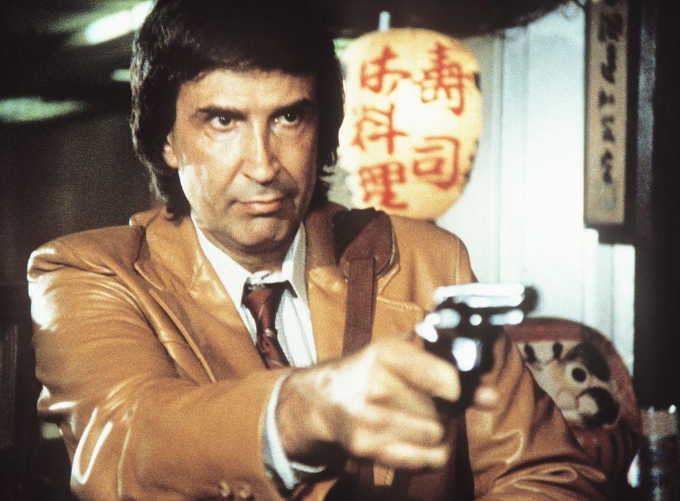 Arnold Cream (George Loros) ist ein eiskalter Killer, der selbst vor Polizistenmord nicht zurückschreckt. - Bildquelle: ORION PICTURES CORPORATION. ALL RIGHTS RESERVED.
