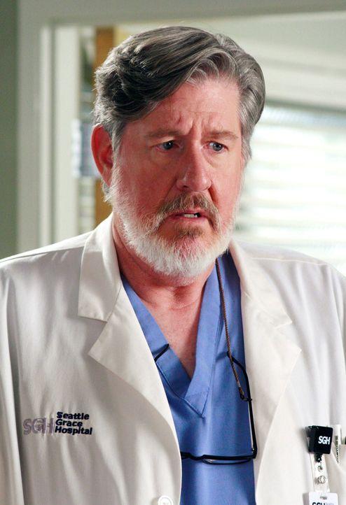 Norman (Edward Herrmann) hat ein Problem: Er hat versehentlich einer Patientin gesagt, dass sie bald sterben muss. Nun ist sie spurlos verschwunden... - Bildquelle: Touchstone Television