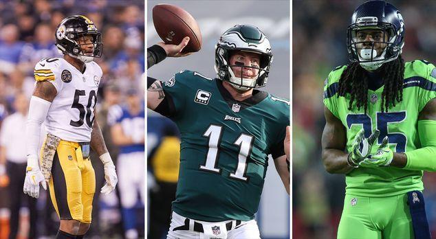 Wentz, Luck, Edelman: Diese Stars könnten den NFL-Saisonstart verpassen - Bil...