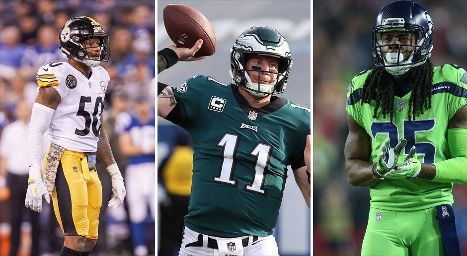 Wentz, Luck, Edelman: Diese Stars könnten den NFL-Saisonstart verpassen - Bildquelle: Imago