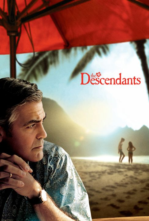 DESCENDANTS, THE - FAMILIE UND ANDERE ANGELEGENHEITEN - Plakatmotiv - Bildquelle: 2011 Twentieth Century Fox Film Corporation. All rights reserved.