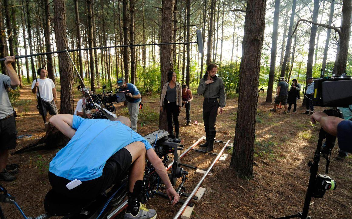 Backstage am Set von Sleepy Hollow - Bild20 - Bildquelle: 20th Century Fox and all of its entities all rights reserved