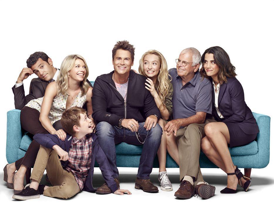 (1. Staffel) - Als der Schauspieler Dean Sanderson (Rob Lowe, M.) nach Boise, einem kleinen Ort in Idaho, zurückkehrt, sind Debbie (Mary Elizabeth E... - Bildquelle: 2015-2016 Fox and its related entities.  All rights reserved.