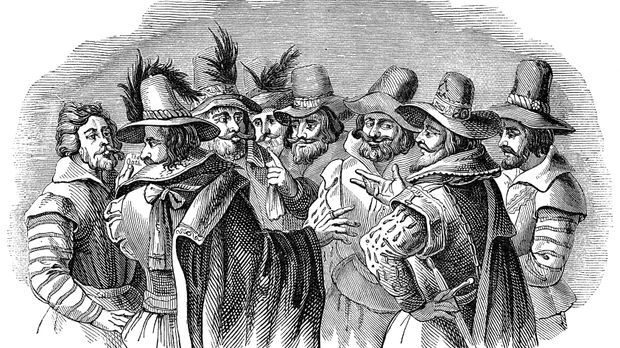 Guy Fawkes und die Bonfire Night