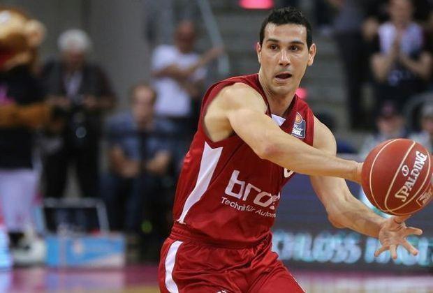 Niko Zisis verliert mit Bamberg den Europacup-Auftakt