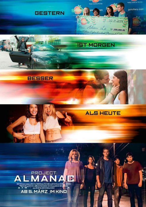 Project-Almanac-Plakat-Paramount-Pictures - Bildquelle: Paramount Pictures