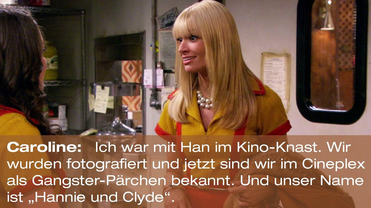 2-broke-girls-zitat-staffel2-episode3-gelbe-gefahr-caroline-hannie-clyde-warnerpng 1600 x 900 - Bildquelle: Warner Brothers Entertainment Inc.