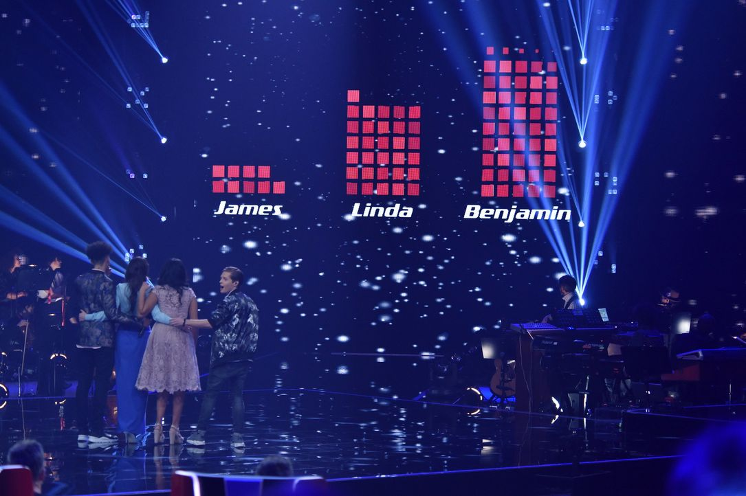TVOG2018_Halbfinale_James,Linda,Benjamin - Bildquelle: ProSieben/SAT.1/Andre Kowalski