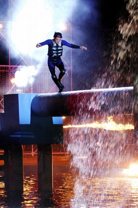 In dieser Show werden die spektakulärsten Spiele im Wipe Out Parcours gezeigt. - Bildquelle: Stefan Menne ProSieben