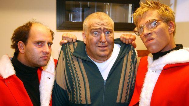 Markus Maria Profitlich (M.) hat sich Weihnachten ganz anders vorgestellt! ©...