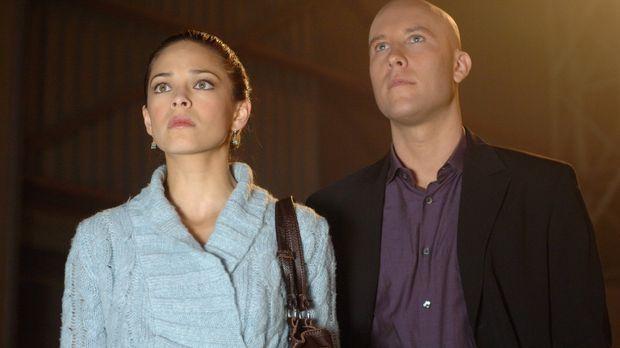 WIrd Clark paranoid oder hat Lana (Kristin Kreuk, l.) wirklich eine Affäre mi...