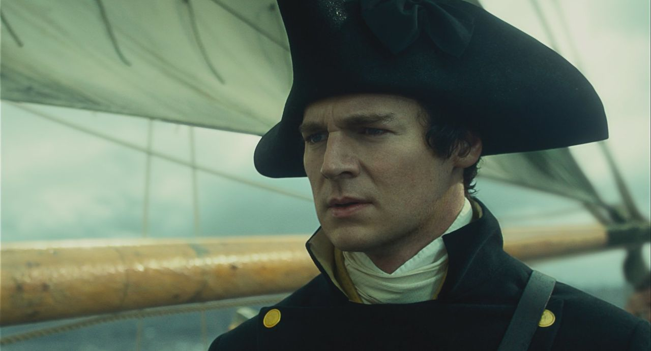 Das Leben der Crew des unerfahrenen Kapitäns Pollard (Benjamin Walker) ist in Gefahr, als ein riesiger Wal das Schiff attackiert ... - Bildquelle: Warner Bros.