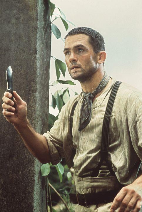 Der Jäger Harrison (Bill Campbell) ist im Dschungel auf der Suche nach neuen Zirkusattraktionen ... - Bildquelle: MDP WORLDWIDE