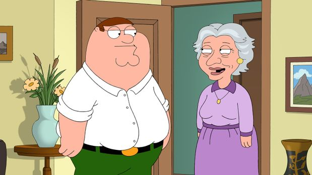 Family Guy - Peters Mutter ist verstorben. Der Verlust trifft Peter (l.) hart...