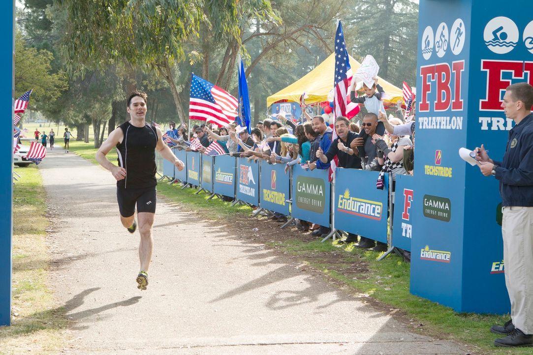 Der FBI-Triathlon steht an, und Hotch (Thomas Gibson) nimmt daran teil ... - Bildquelle: ABC Studios