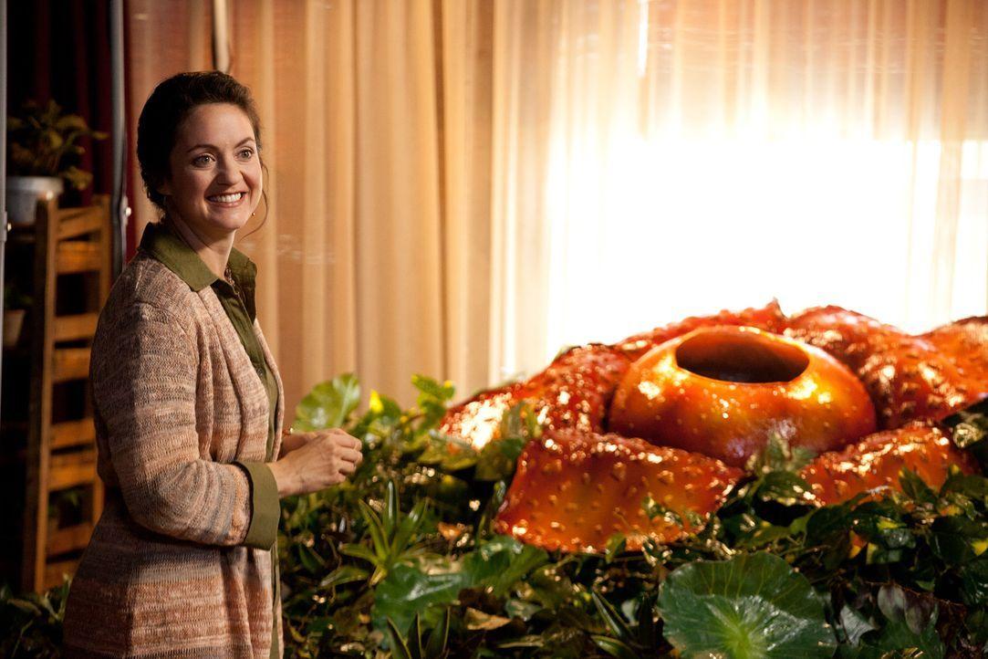Dr. Audrey Foley (Kali Rocha) ist in eine vom Aussterben bedrohte Pflanze verliebt ... - Bildquelle: 2011 Sony Pictures Television Inc. All Rights Reserved.