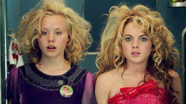 Die individualistische 15-Jährige Lola (Lindsay Lohan, r.), deren schillernde...