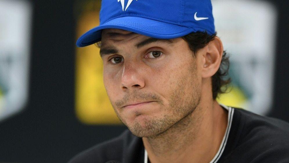 Rafael Nadal hofft darauf pünktlich fit zu werden - Bildquelle: AFPSIDCHRISTOPHE ARCHAMBAULT