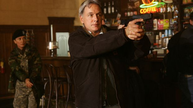 Ahnt, was Mamoun Sharif vor hat: Gibbs (Mark Harmon) ... © CBS Television