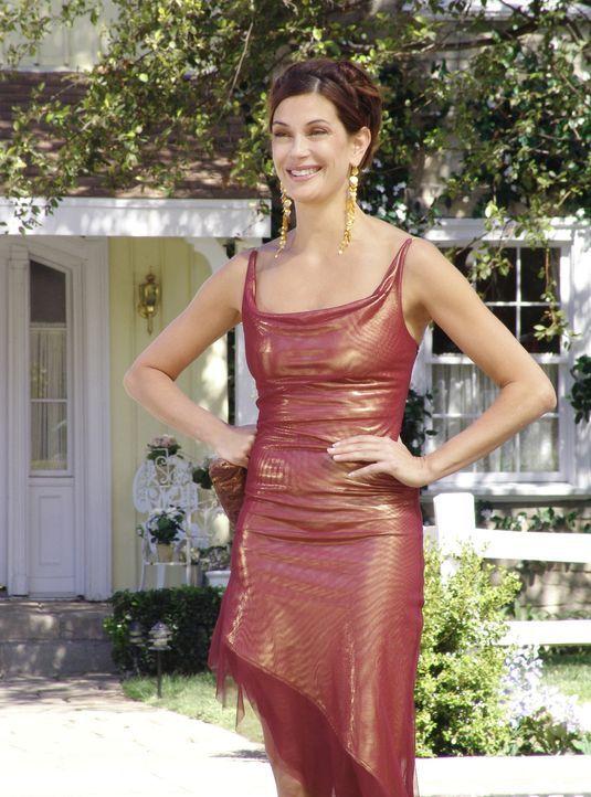 Susan (Teri Hatcher) hat ein Date mit Mike, doch dieser bekommt unerwartet weiblichen Besuch und muss deshalb absagen ... - Bildquelle: Touchstone Pictures