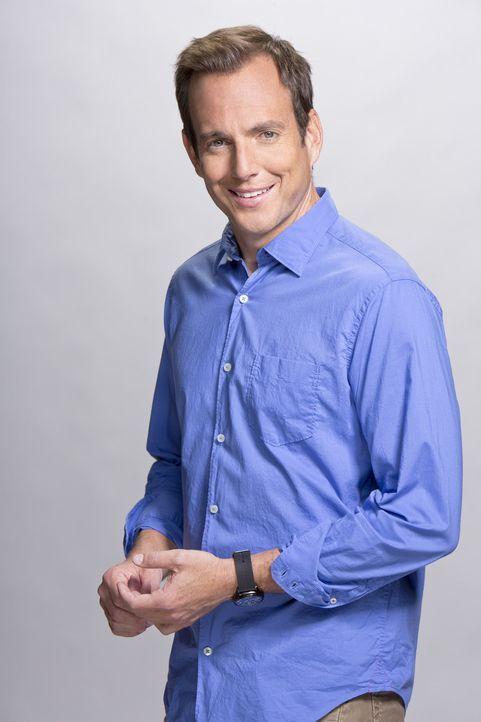 (1. Staffel) - Sein Leben wird unheimlich kompliziert, als er erfährt, dass die Ehe seiner Eltern auf der Kippe steht: Nathan Miller (Will Arnett)... - Bildquelle: 2013 CBS Broadcasting, Inc. All Rights Reserved.