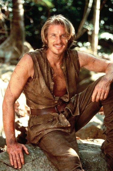 William Shaw (Matthew Modine) ist ein wortgewandtes Schlitzohr und ein Dieb, er soll der Piratenbraut Morgan eine Schatzkarte aus dem Lateinischen  - Bildquelle: VCL Communications