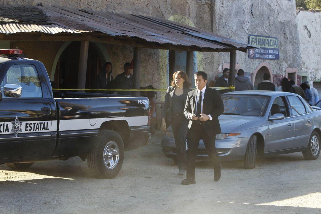Ermitteln in einem neuen Fall: Kimball Cho (Tim Kang, r.) und Kim Fischer (Emily Swallow, l.) ... - Bildquelle: Warner Bros. Television