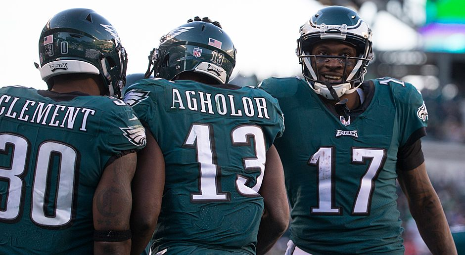 Platz 18 (geteilt): Philadelphia Eagles (NFC East) - Bildquelle: 2017 Getty Images