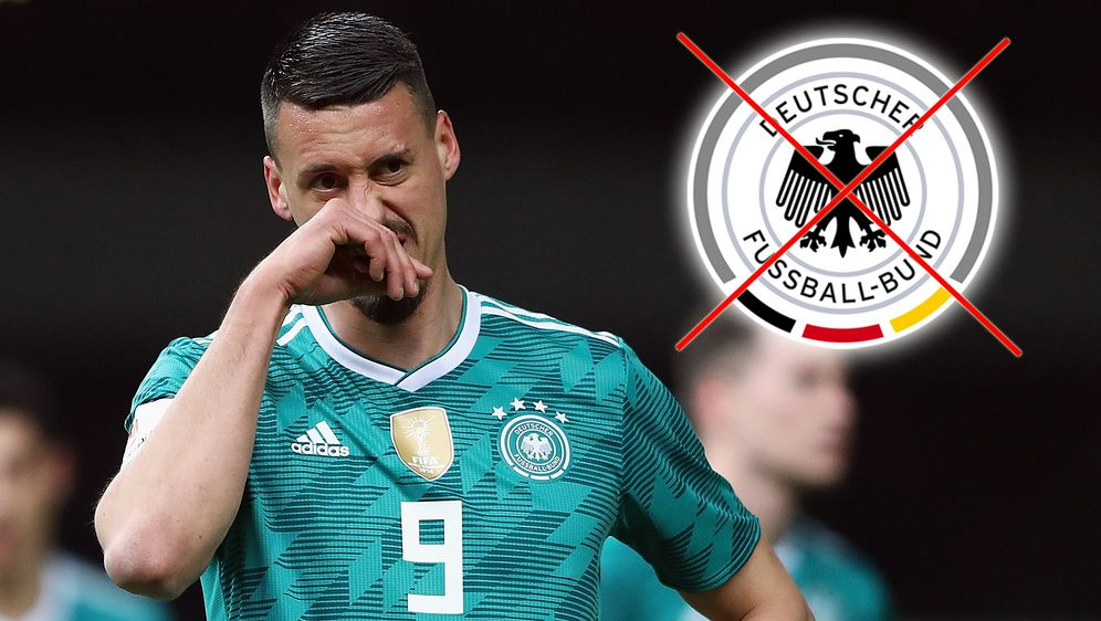 Sandro Wagner wird nicht mehr im DFB-Trikot auflaufen - Bildquelle: 2018 Getty Images