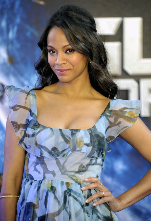 Zoe-Saldana-03-Guardians-of-the-Galaxy-Lia Toby-WENN-com - Bildquelle: WENN.com