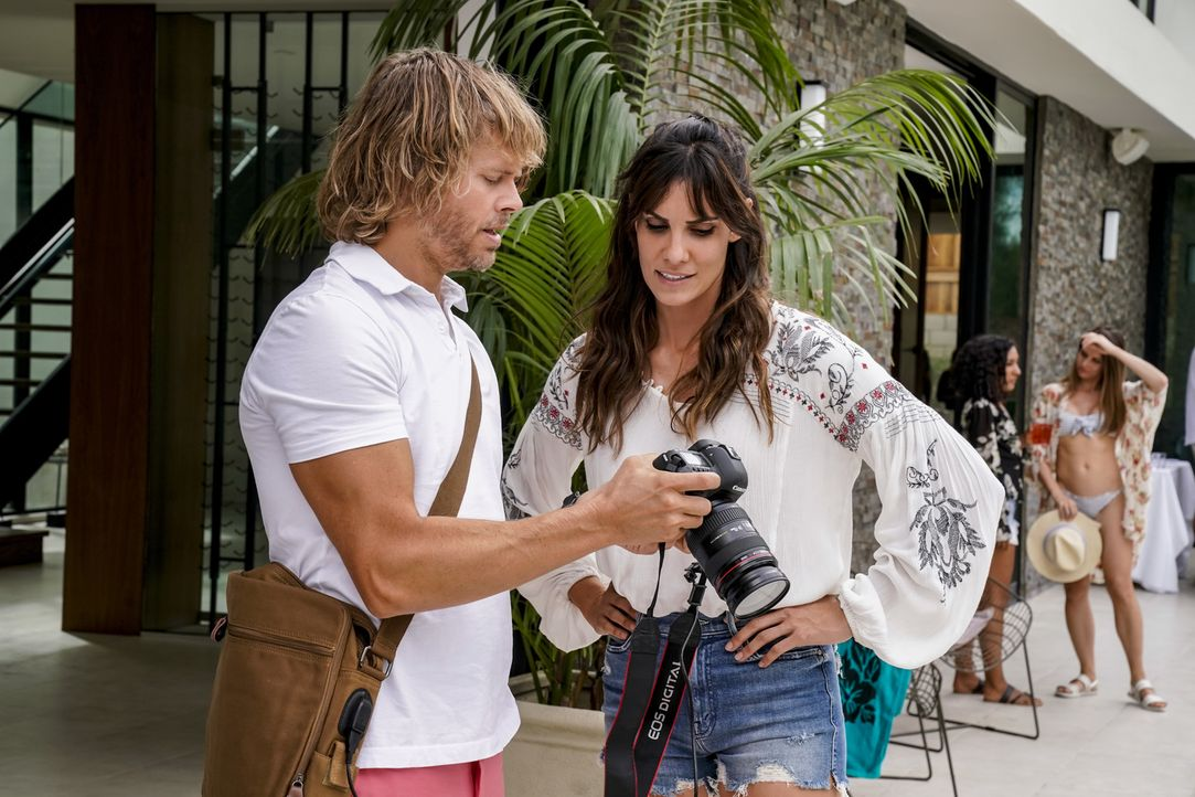 (v.l.n.r.) Deeks Marty (Eric Christian Olsen); Kensi Blye (Daniela Ruah) - Bildquelle: Cliff Lipson 2018 CBS Bradcasting, Inc. All Rights Reserved./ Cliff Lipson