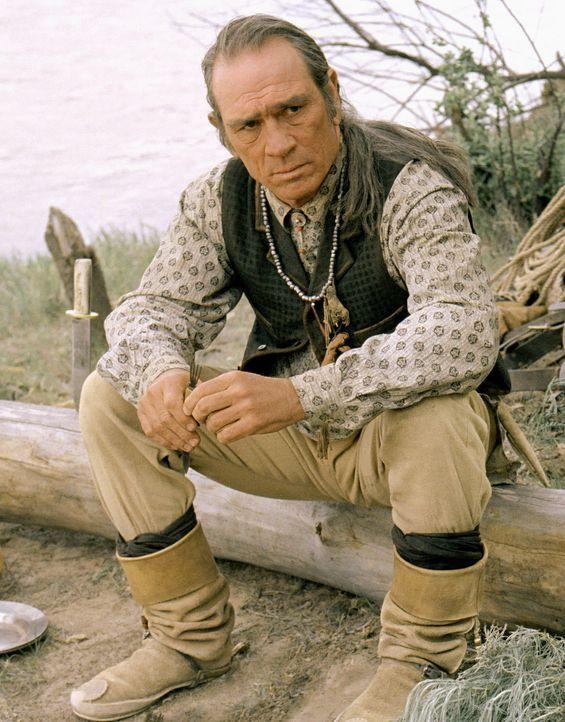1886 kehrt Samuel Jones (Tommy Lee Jones) zu seiner Familie in New Mexico zurück, die er vor 20 Jahren im Stich gelassen hat. Er muss feststellen,... - Bildquelle: 2004 Sony Pictures Television International. All Rights Reserved.