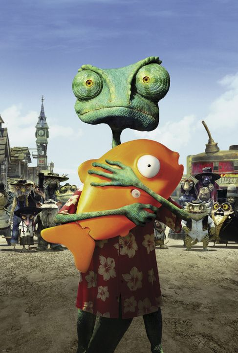 RANGO - Artwork - Bildquelle: Paramount Pictures. All rights reserved.