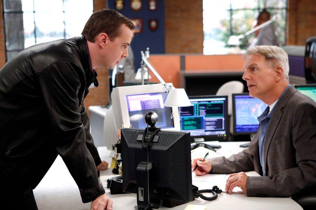 Bei den Ermittlungen in einem neuen Fall: McGee (Sean Murray, l.) und Gibbs (Mark Harmon, r.) ... - Bildquelle: CBS Television