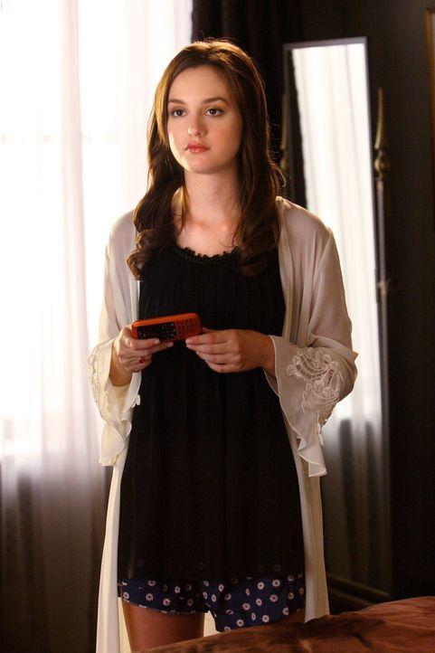 Ihr Herz ist gebrochen: Nach dem Seitensprung ihres Freundes versucht Blair (Leighton Meester), mit der Situation irgendwie fertig zu werden ... - Bildquelle: Warner Brothers