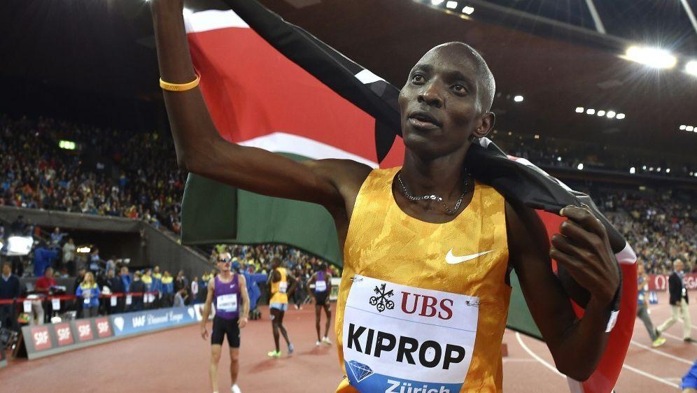 "Olympiasieger Kiprop sieht sich als ""Opfer"" - Bildquelle: AFPSIDMICHAEL BUHOLZER"