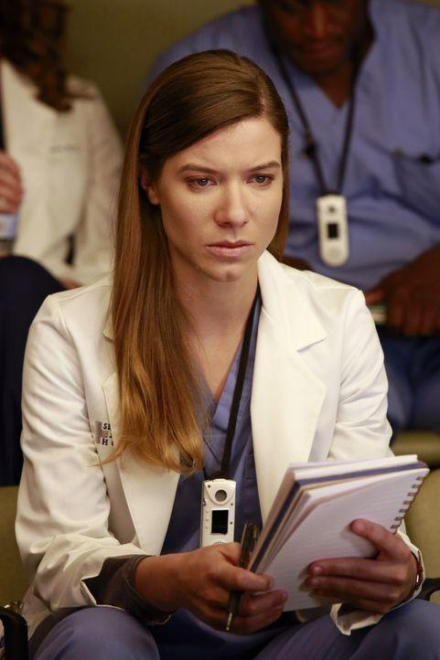 Ein Konkurrenzkampf zwischen Leah (Tessa Ferrer) und Stephanie entsteht, während Meredith Heather mit Telefondienst quält ... - Bildquelle: ABC Studios