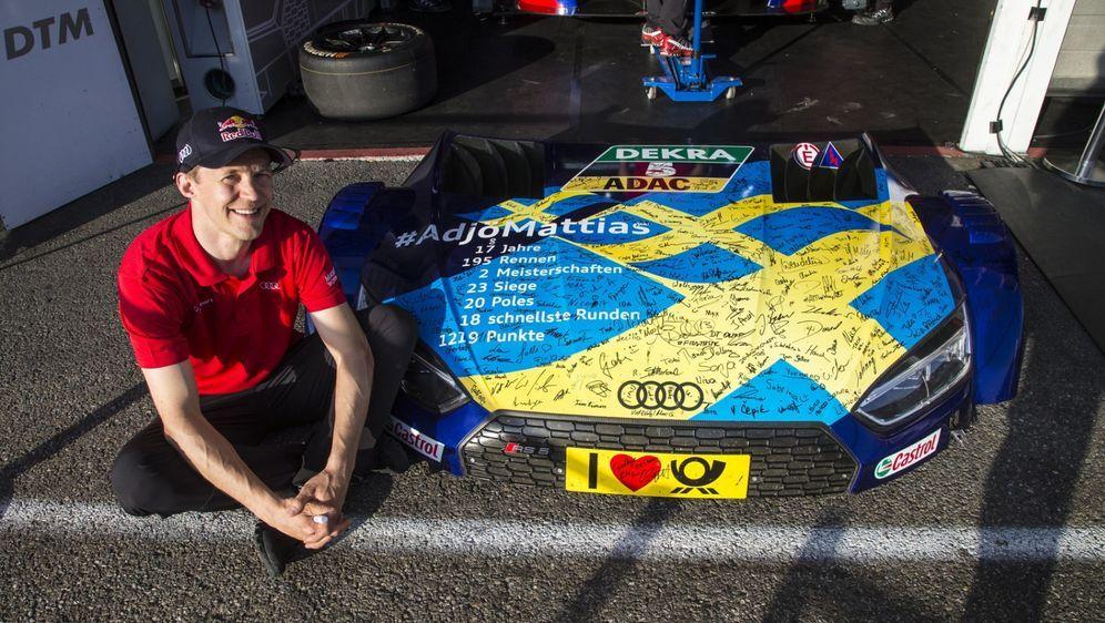 Die positiven Entwicklungen in der DTM haben Mattias Ekströms Interesse gewe... - Bildquelle: Audi