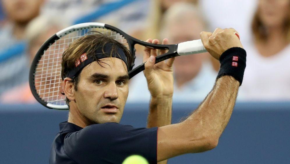 Federer greift in Cincinnati nach seinem achten Titel - Bildquelle: GETTY IMAGES NORTH AMERICAGETTY IMAGES NORTH AMERICASIDMATTHEW STOCKMAN