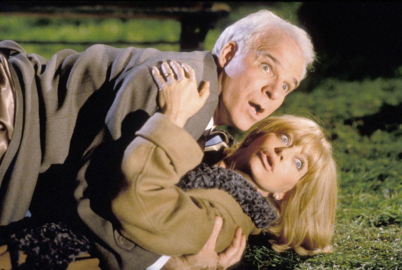 Das Ehepaar Henry (Steve Martin, oben) und Nancy Clark (Goldie Hawn, unten) versuchen, ihr eingefahrenes Eheleben wieder zu beleben ...