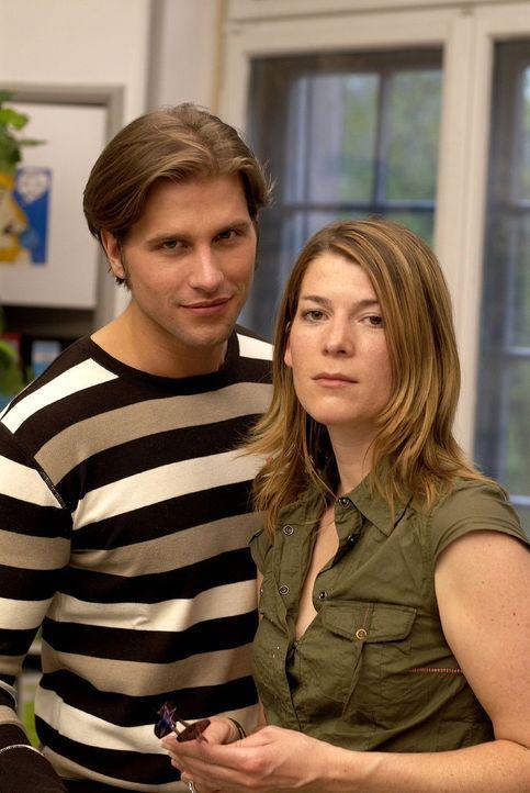 Das Ermittlerduo Katja Hansen (r.) und Sebastian Thiele (l.) - Bildquelle: Walter Wehner Sat.1